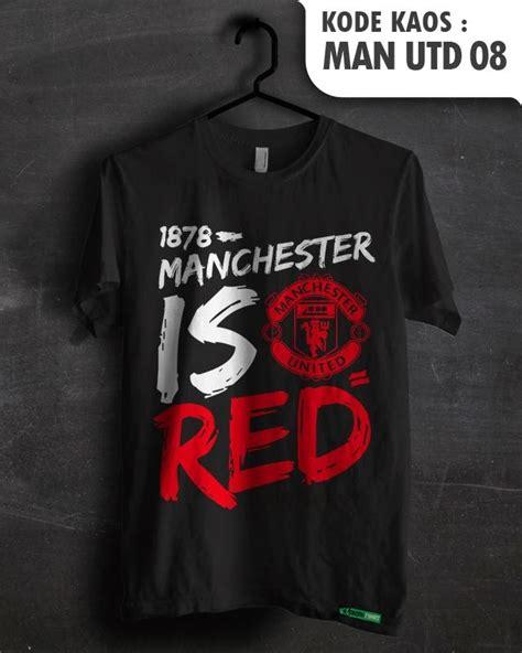 Kaos Manchester United 6 jual manchester united utd mu fans baju sepakbola kaos distro klub tim sepak bola jersey