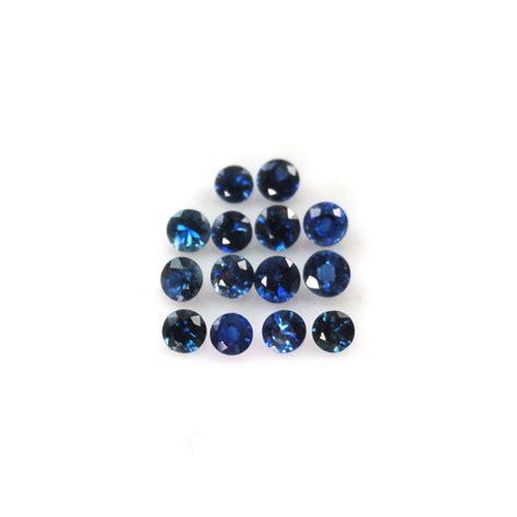Blue Safir 1 1 blue sapphire 2 5mm approximatel 1 carat buy blue