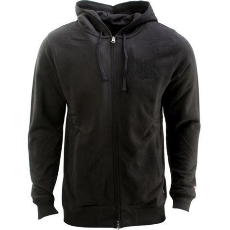 Jaket Zipper Hoodie Sweater Undefeated Hitam 4 undefeated vincent zip hoodie black