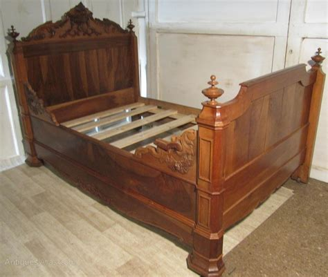 Antique Sleigh Bed Walnut Sleigh Bed Or Empire Style Day Bed Antiques Atlas