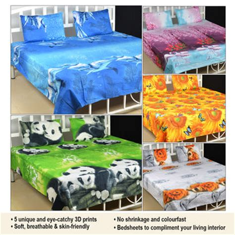 best bed sheets for the price buy set of 5 nature s love 3d print bed sheets with 10