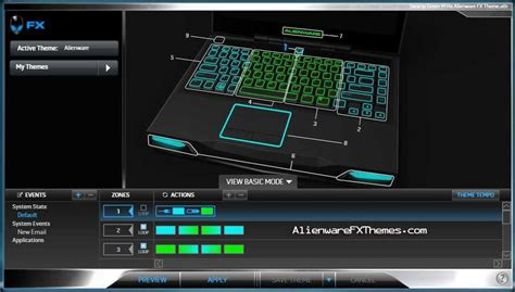 alienware keyboard themes download alienware m14x themes category