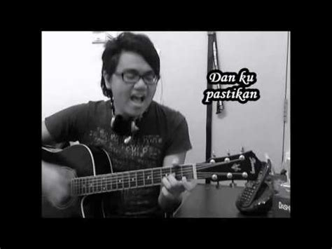 guitar tutorial bernafas tanpamu all about that bass versi melayu acoustic cover by