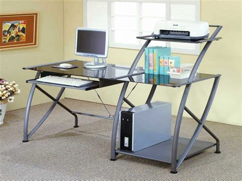 Office Depot Home Office Furniture Office Furniture Computer Desks Metal And Glass Desk Glass Desk Office Depot Office Ideas