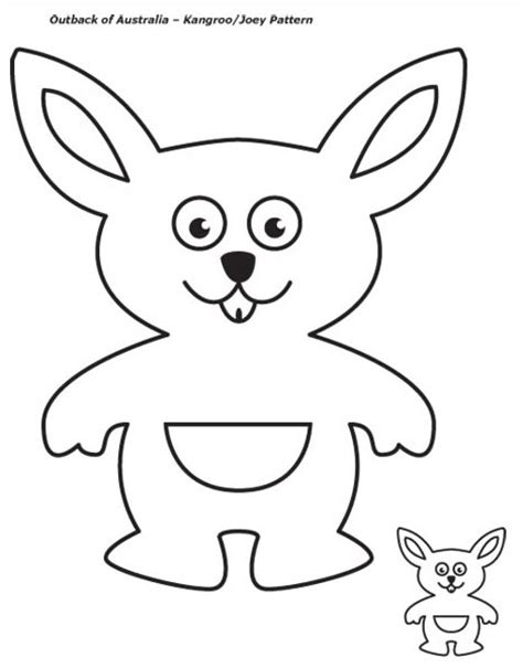 kangaroo puppet template preschool programs chapter tslac