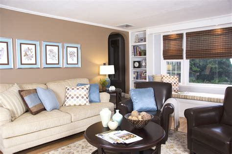blue and brown living room brown and blue living room house decor pinterest