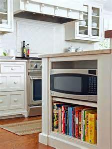 Microwave In Island In Kitchen by Sorry Microwave But You Re Outta Here Driven By Decor