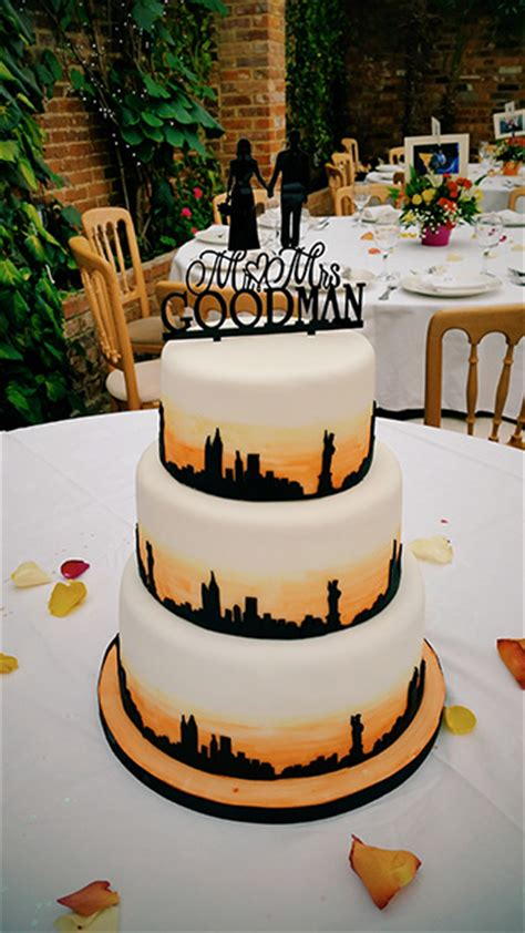 new york themed wedding cake sunday baking