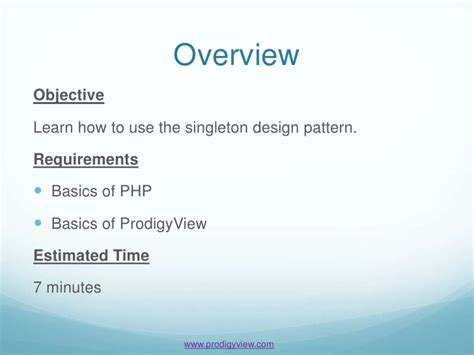 singleton pattern and unit testing how to implement the singleton design pattern
