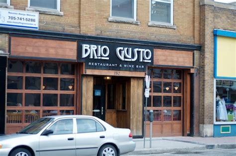 brio downtown brio gusto downtown peterborough