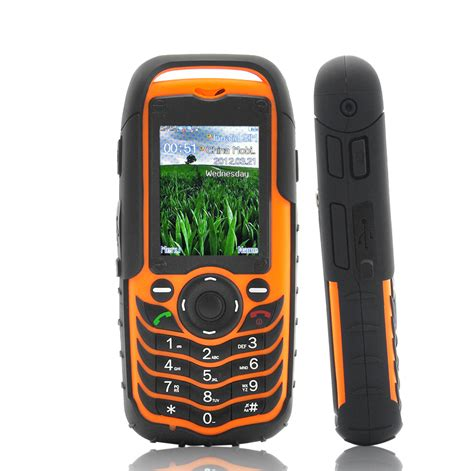 Rugged Waterproof Phone by Wholesale Waterproof Shock Proof Cell Phone From China