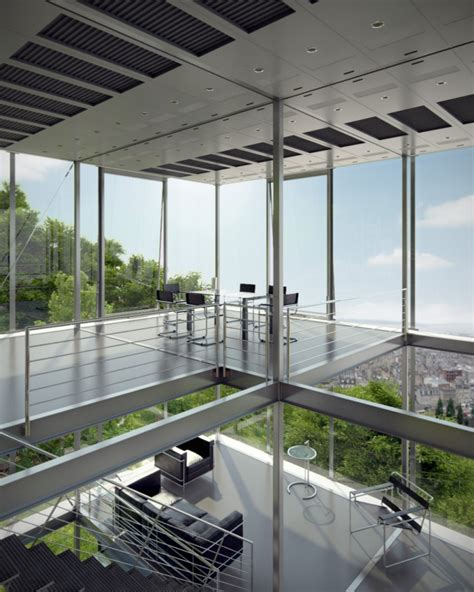 Cliff View Modern Mansion R128 in Stuttgart by Werner Sobek Homesthetics Inspiring ideas for