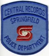 Springfield Arrest Records Ben S Patch Collection