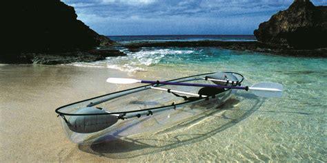 clear kayak the molokini a transparent ocean kayak so genius we wish