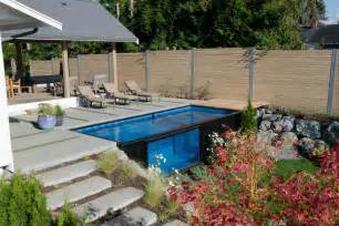 shipping container pool sets up in minutes curbed