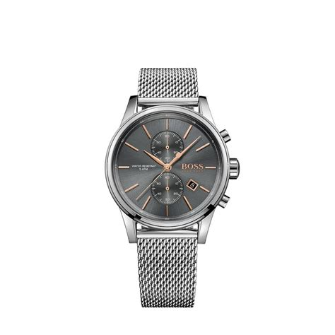 hugo jet s chronograph mesh bracelet