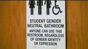 Bathroom Gender No Transgender Protest After Saisd States It Will Not