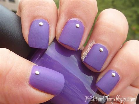 easy nail art collection nailart and things simply studded simple nail art