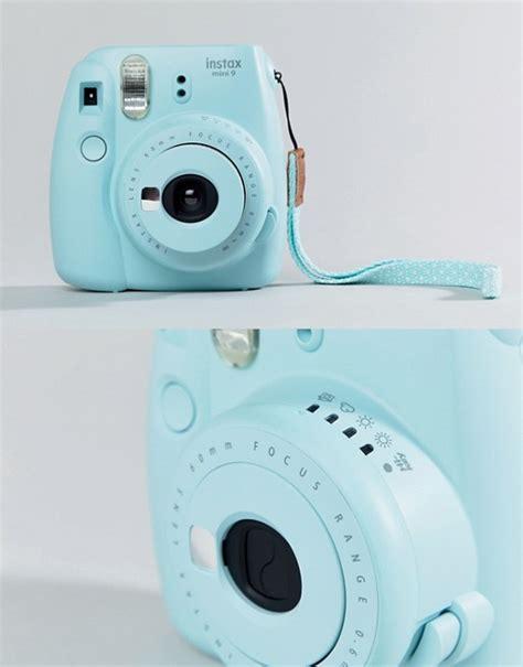 Fujifilm Kamera Instax Mini 9 Blue fujifilm fujifilm instax mini 9 instant icy blue