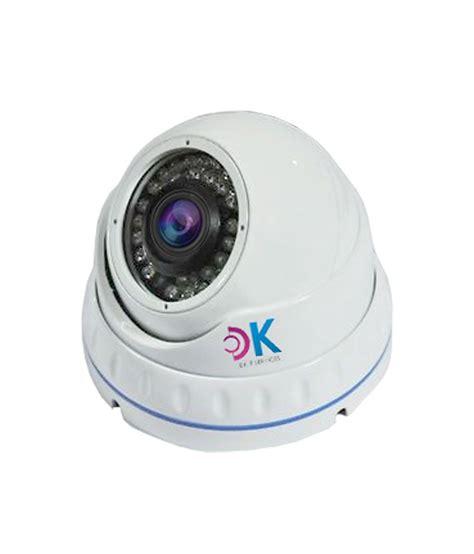 Cctv Indoor 1000 Tvl Jernih d k dome 1000 tvl 36 ir indoor cctv with vision price in india buy d k