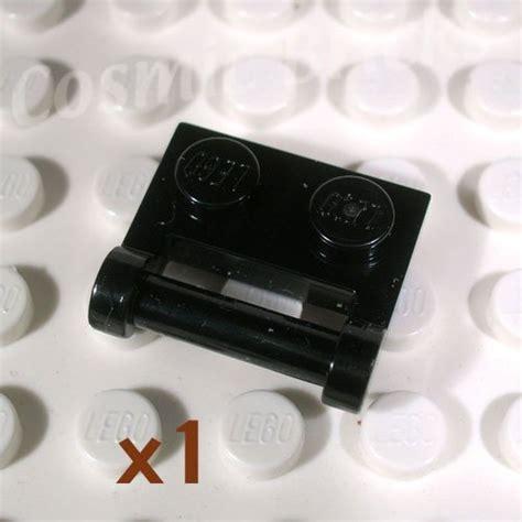 Lego Part Black Plate 1 X 1 Side lego black plate modified 1x2 handle on side 4225201 48336 single n