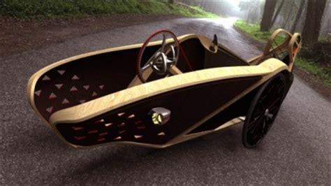 liege fahrrad bamtrike futuristisches designer liege dreirad aus bambus