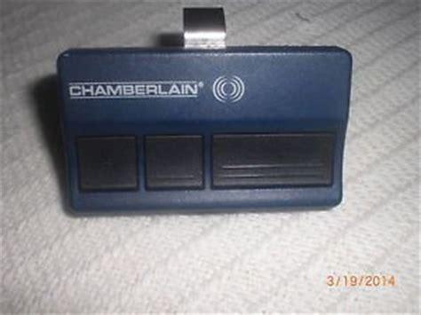 chamberlain 953cd multi function 3 button garage door opener remote
