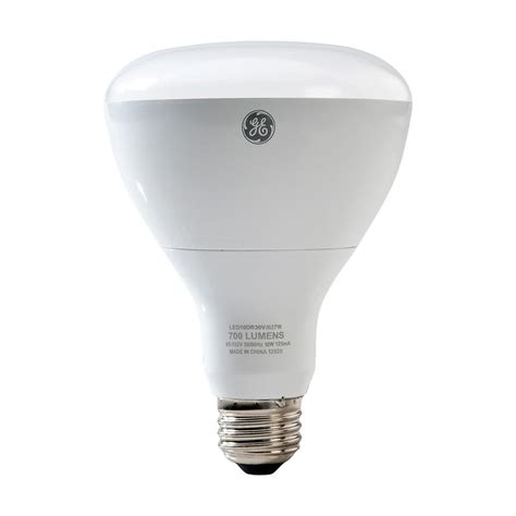 Ge Led Light Bulbs Ge 65w Equivalent Reveal 2700k High Definition Br40 Dimmable Led Light Bulb Led13dbr40rvlht