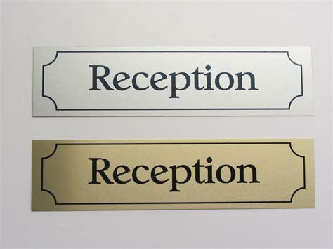 door nameplates office desk name plate or door sign 2x8