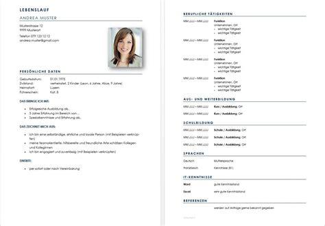 Lebenslauf Format Schweiz Vorlage Lebenslauf Vorlage Muster Ch