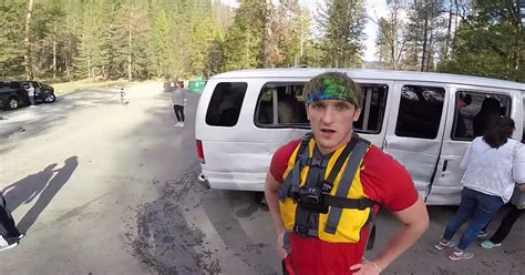 logan paul car logan paul exploits car crash for vlog views proves he s