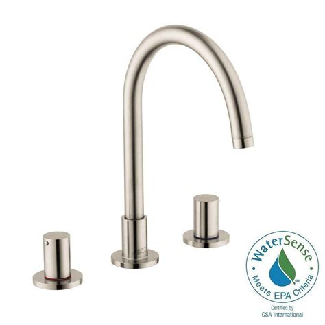 ethan single handle high arc modern widespread kitchen faucet dual pullout sprayer hansgrohe uno 8 in widespread 2 handle high arc bathroom