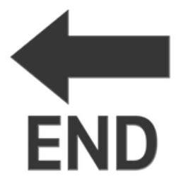emoji ending end arrow emoji u 1f51a