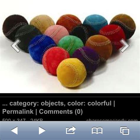colored baseballs colored baseballs color color bracelets jewelry
