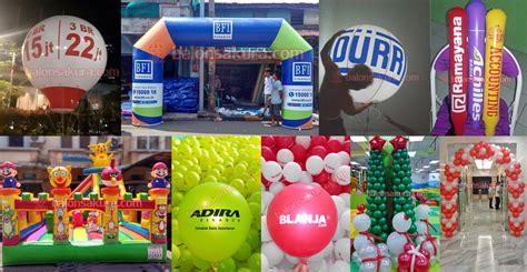 Harga Balon Dekorasi by Jual Balon Gate Balon Sablon Balon Promosi Jakarta Murah
