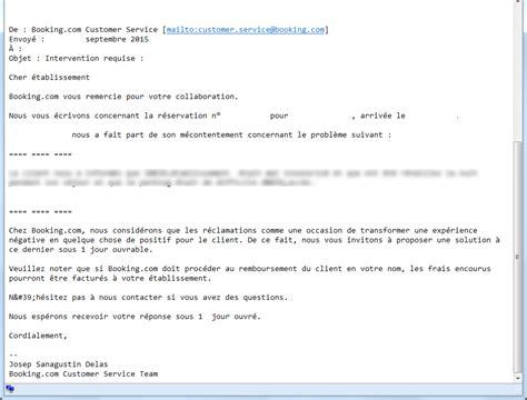 Lettre De Geste Commercial Free Booking Rembourse Vos Clients Et Vous Le Fait Payer Artiref