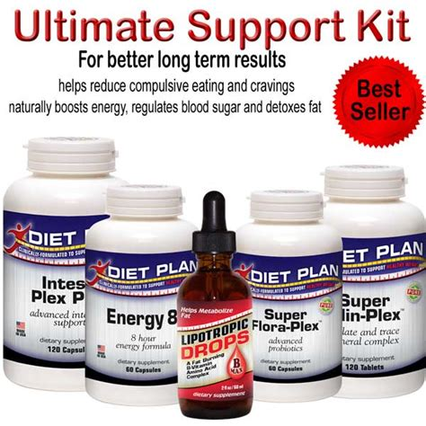 Hormone Diet Detox Kit by Ultimate Hcg Diet Support Kit P Sup Ult