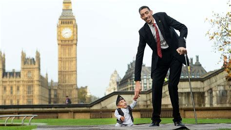 The Tallest Alive by The Tallest And The Shortest In The World Meet For