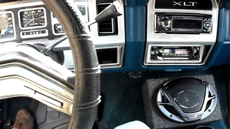 how make cars 1984 ford f150 interior lighting 1984 f150 bucket seat install youtube