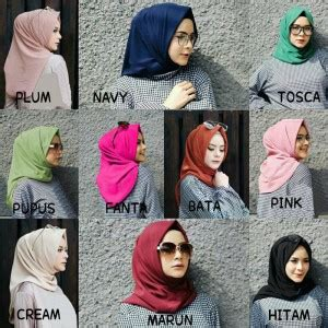 Segiempat Instan Salsa Original Murah Berkualitas bundaku net model jilbab instan terbaru 2017 syar