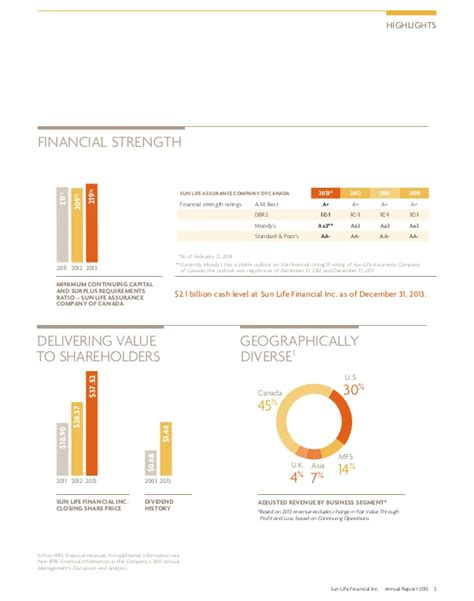 annual report design sles sun financial inc 2013 annual report