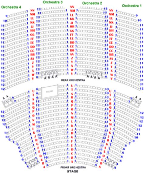 akron civic theatre seating chart seating charts akron civic theatre