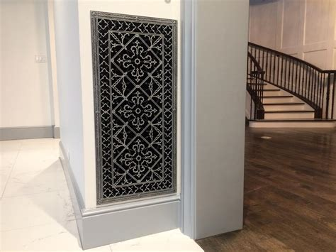 decorative return air grille beautiful decorative return air filter grille the