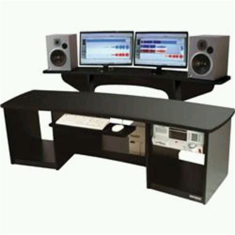 Omnirax Force 24 Recording Studio Desk Recording Studio Recording Studio Desks Workstations