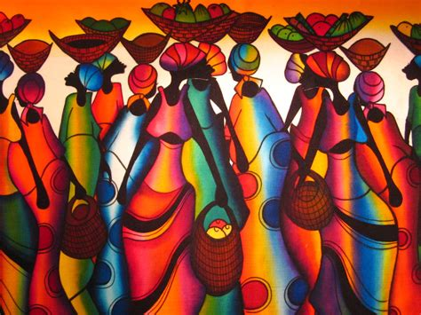colors of africa colours painting by p nakate south africa