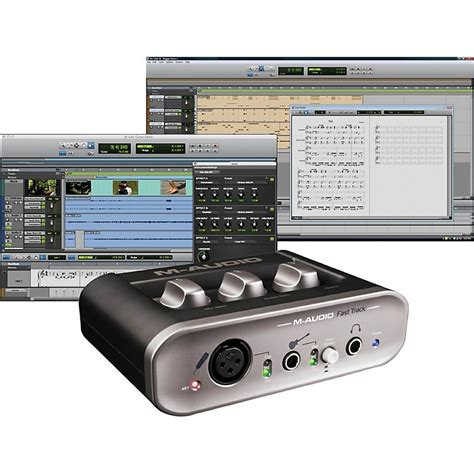 M Audio Fast Track Usb Mkii m audio fast track mkii usb audio interface with pro tools
