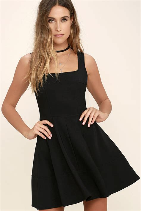 Little Black Dress With Thin Straps