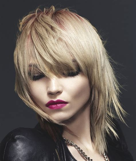hairstyles for long hair rock chick schwarzkopf medium blonde straight hair styles 22762