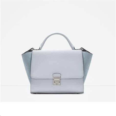 Zara Bag With Buckles 60 zara handbags zara combined city bag with