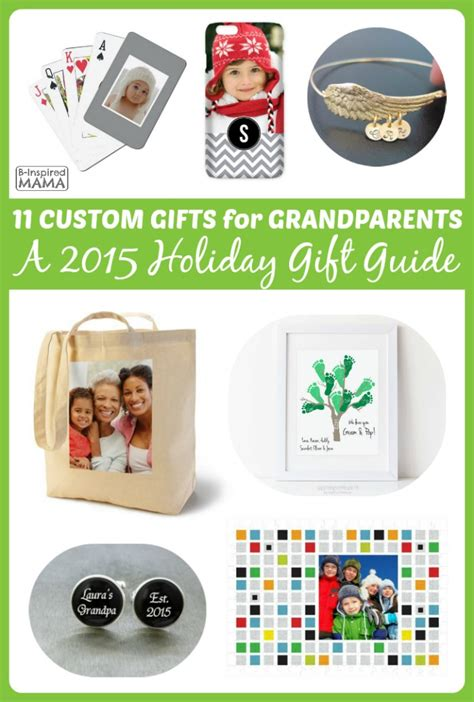 gifts for 2015 2015 gift guide personalized gifts for grandparents